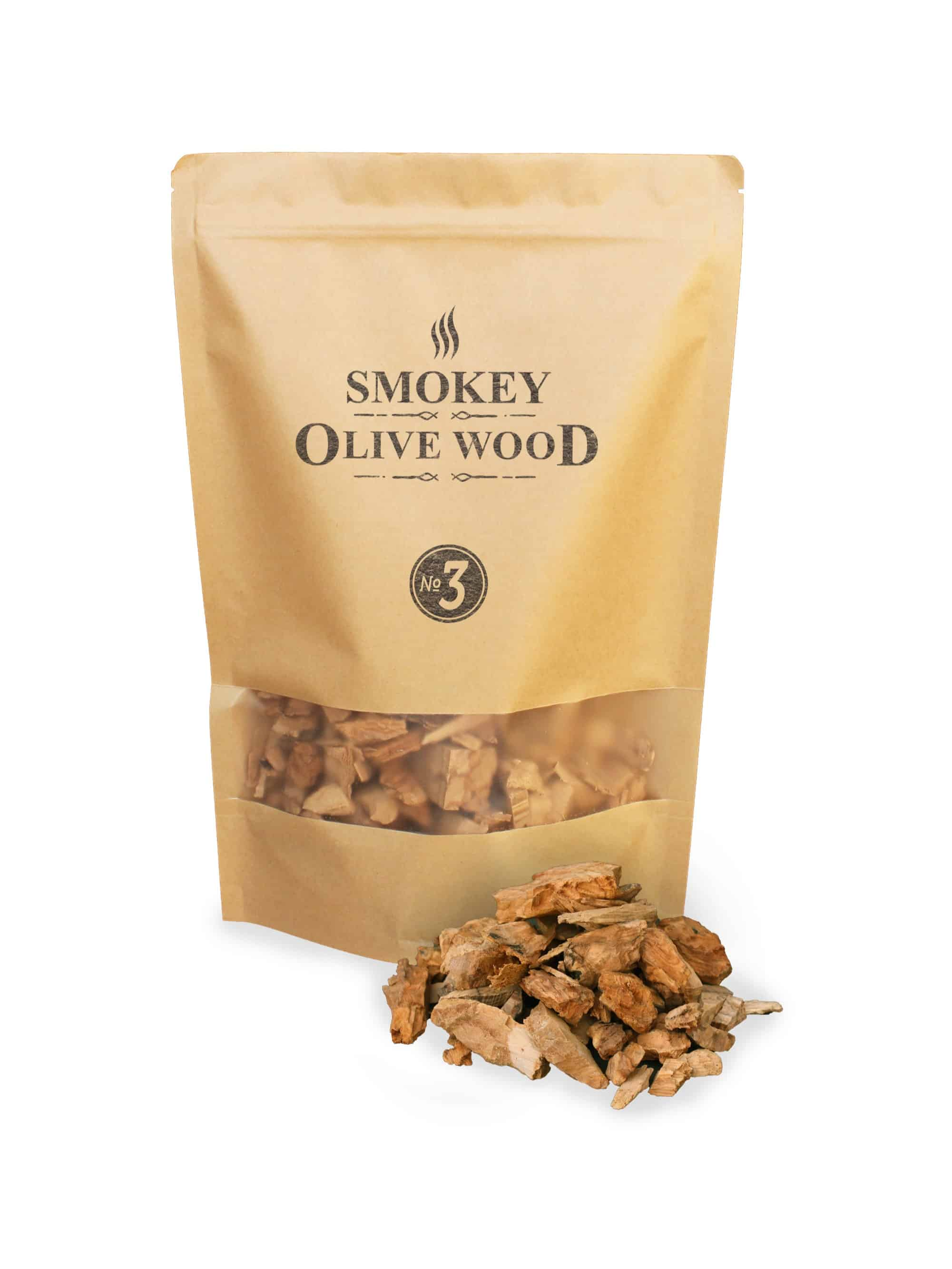 SOW Olive Wood Smoking Chips Nº3