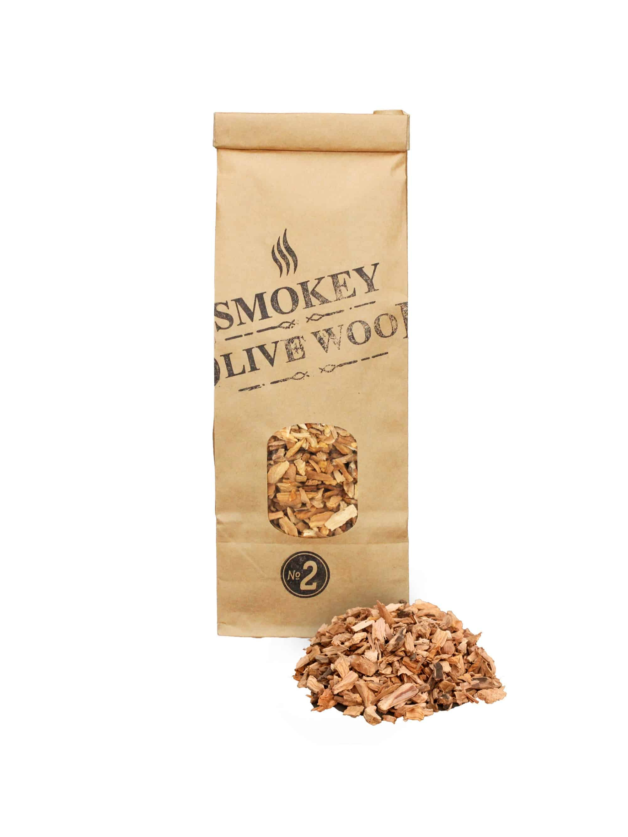 SOW Olive Wood Smoking Chips Small Pack Nº2