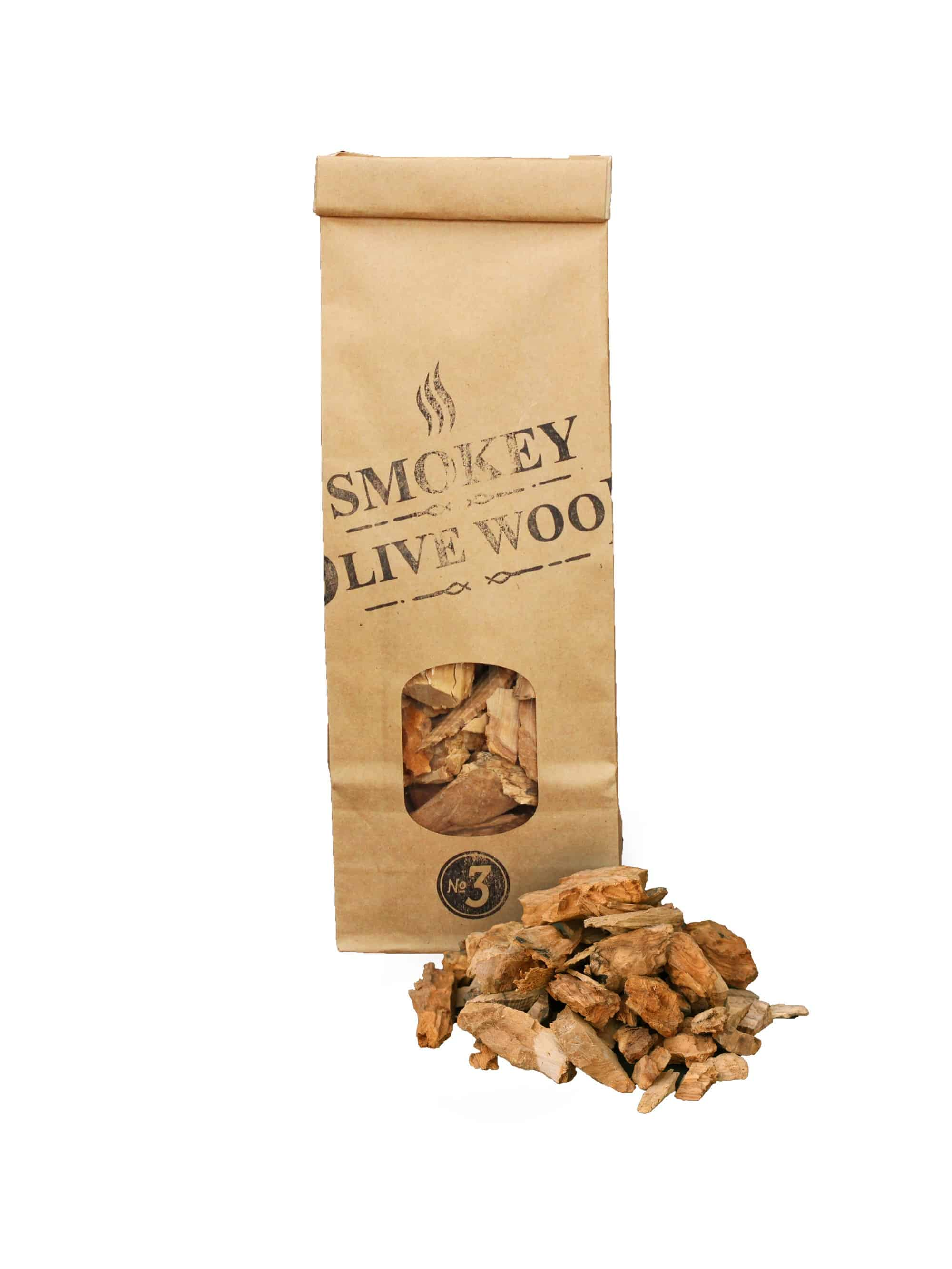 SOW Olive Wood Smoking Chips Small Pack Nº3