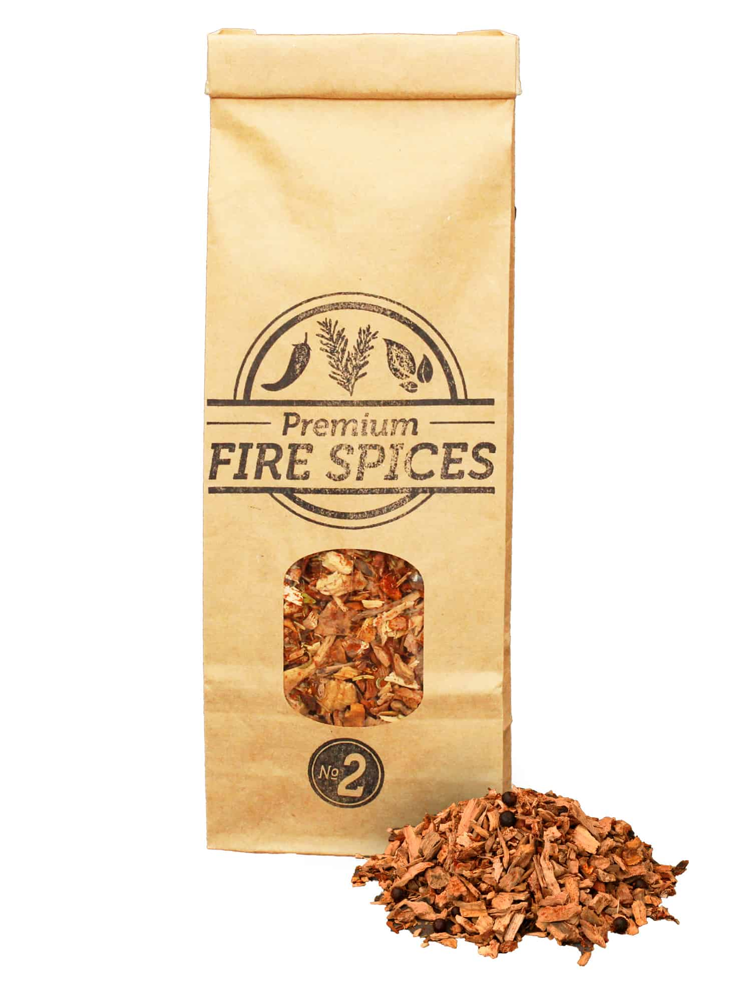 SOW Olive Wood Chips Nº2 + Fire Spices