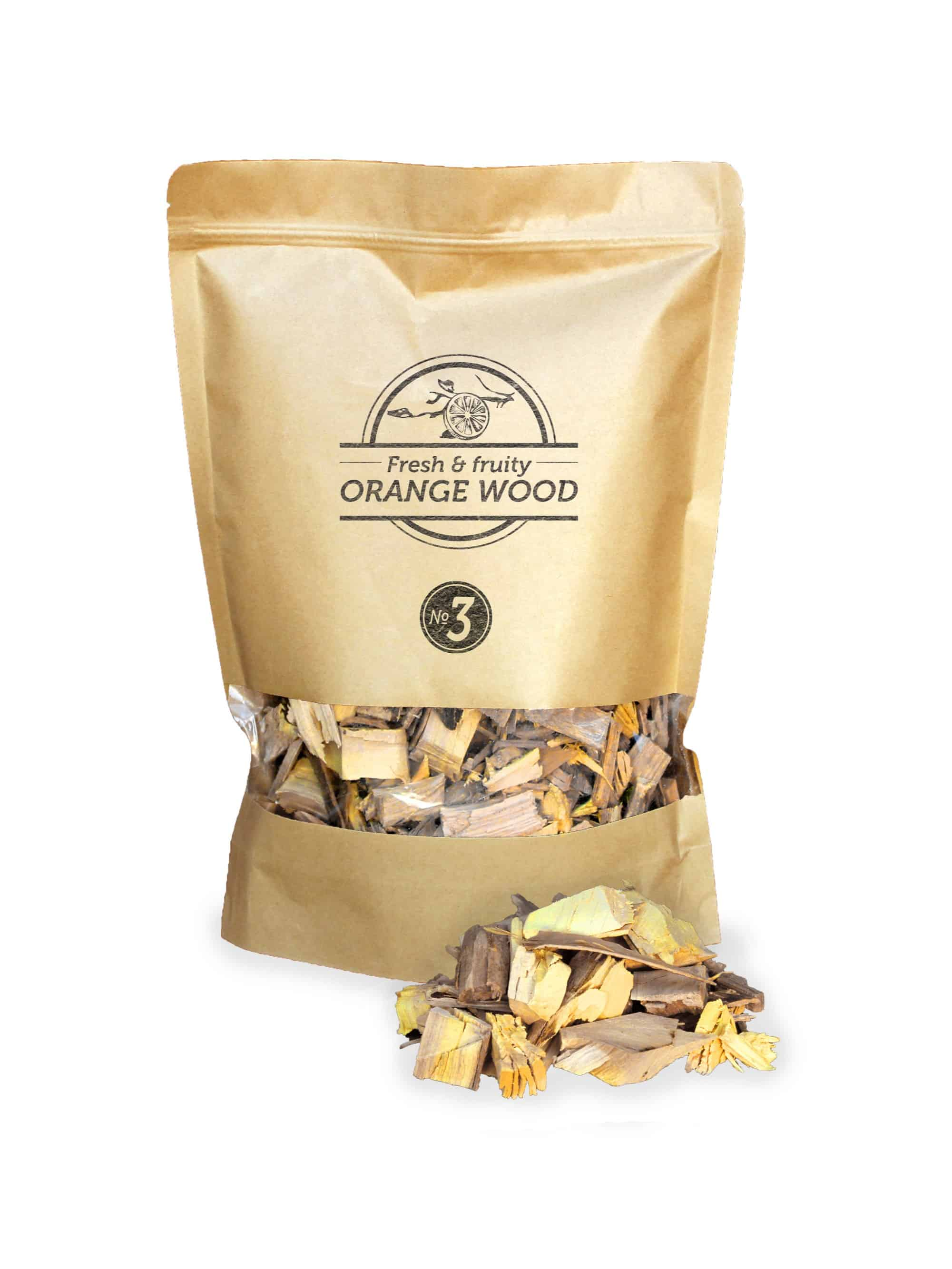 SOW Orange Wood Smoking Chips Nº3