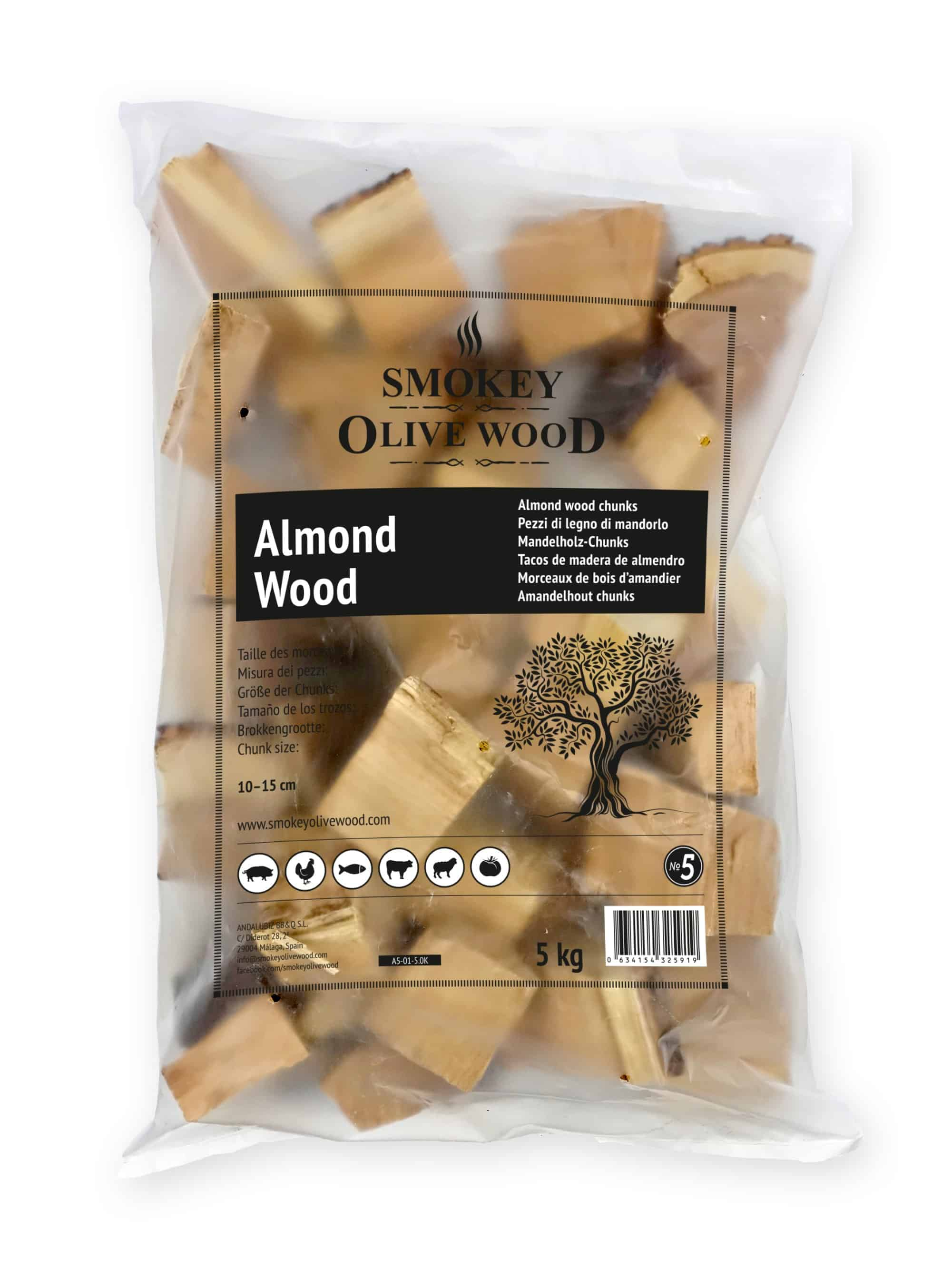 SOW Almond Wood Chunks Nº5