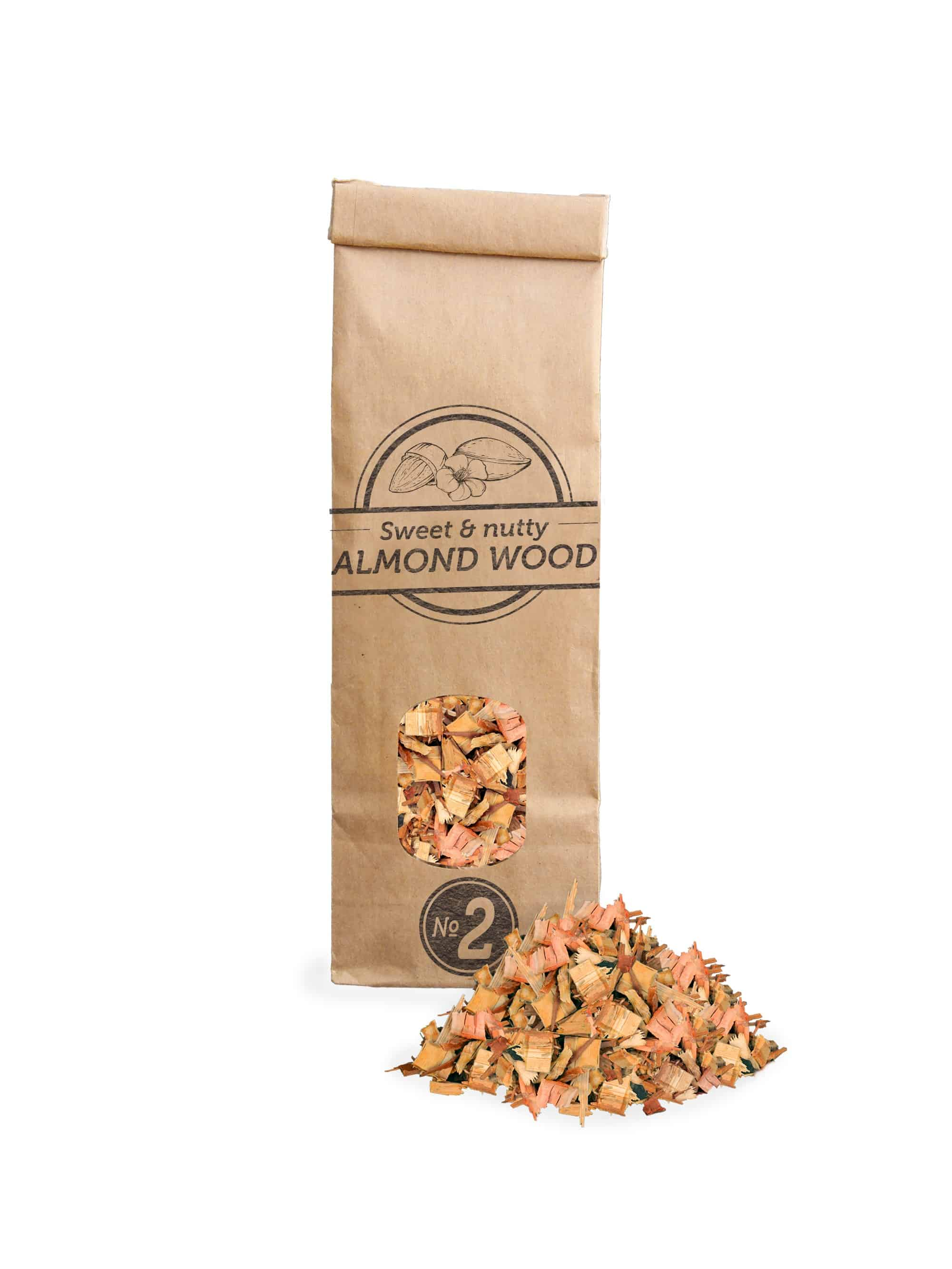 SOW Almond Wood Smoking Chips Small Pack Nº2