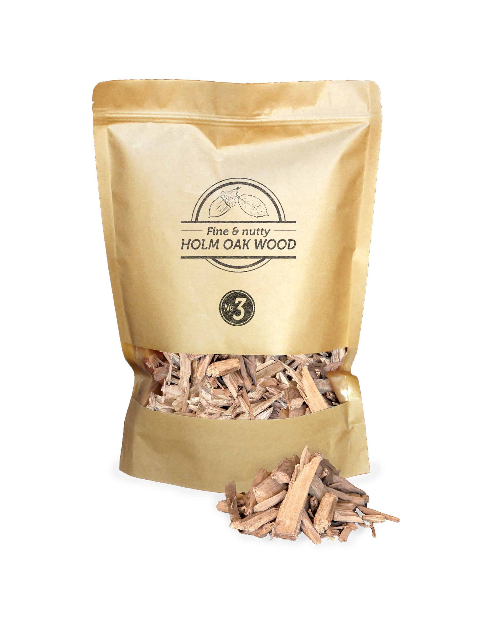 SOW Holm Oak Smoking Chips Nº3