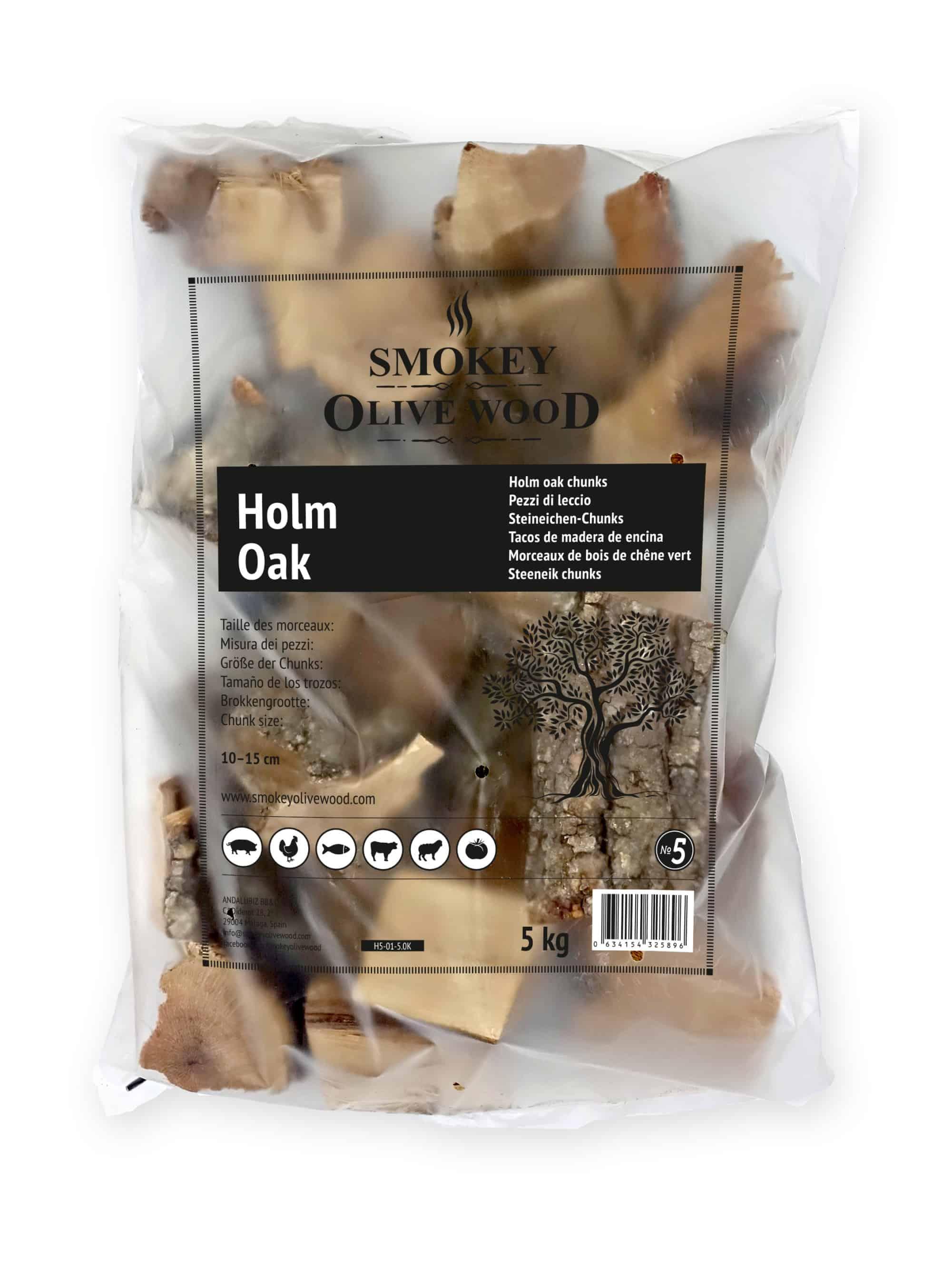 SOW Morceaux de Chêne Vert Nº5