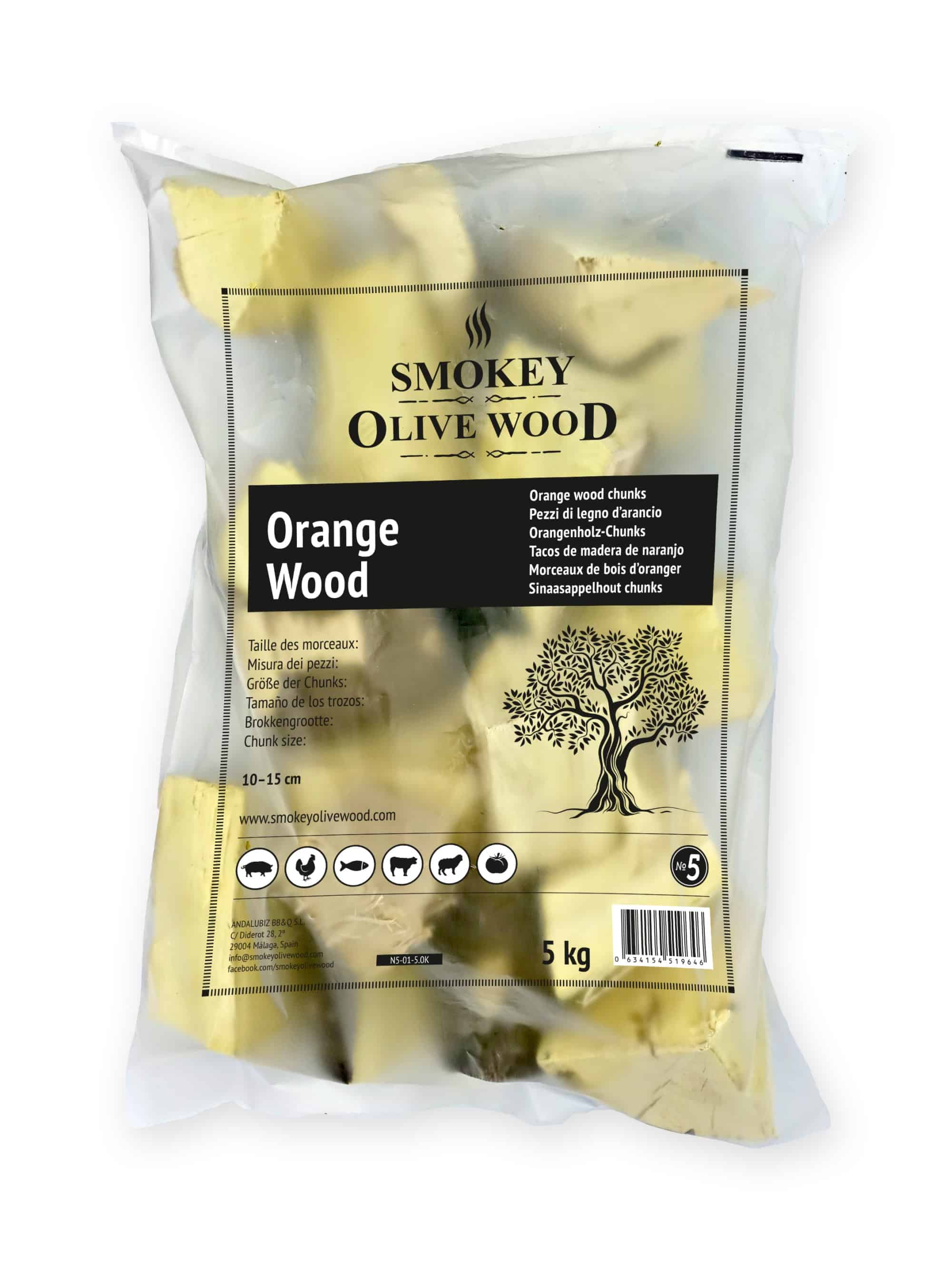SOW Orange Wood Chunks Nº5